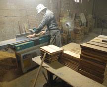 灵益骨灰盒生产过程