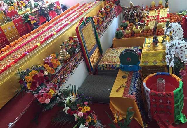 嘎伦寺堪布昂翁加称仁波切举办《千供法会》
