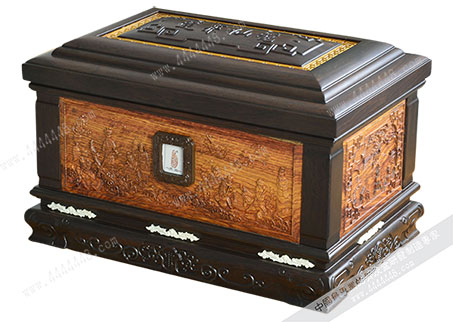 蓬莱仙境A — 檀木骨灰盒